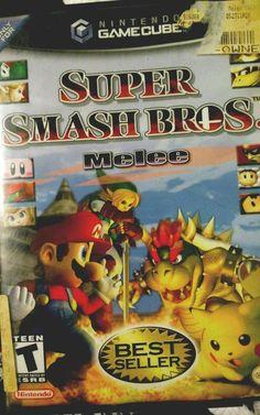 Super Smash Bros Melee (Nintendo GameCube, for sale online Super Smash Bros Melee, Nintendo, Teen, Ebay