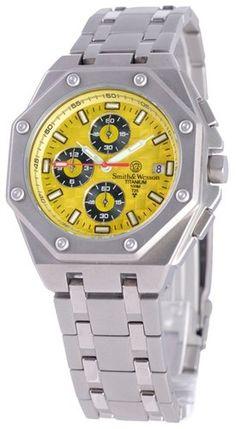 Smith Wesson SWW 93T Ylw Diplomat Tritium Watch | eBay $124.99 #Botach #Tactical #BotachTactical #EBAY