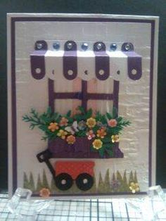 Hawaiian_Purple & White Window by Hawaiian - Cards and Paper Crafts at Splitcoaststampers