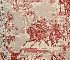 Scenic fabric from Brick House Fabric: Novelty Fabric