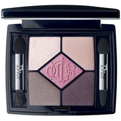 Dior 5 Couleurs Eyeshadow Palette/0.21 oz. ($63) ❤ liked on Polyvore featuring beauty products, makeup, eye makeup, eyeshadow, apparel & accessories, house of pinks, christian dior eye shadow, christian dior, palette eyeshadow and eye brow makeup