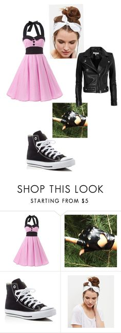 """""""Untitled #93"""" by blackgarden02 ❤ liked on Polyvore featuring Converse, New Look and IRO"""