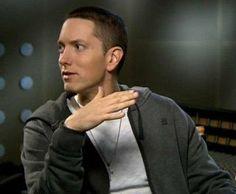 Eminem--that half smile smirk <3 so cute <3
