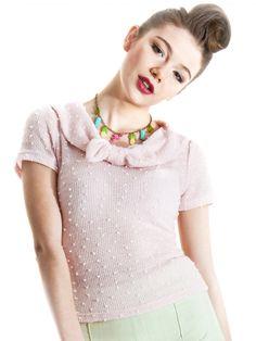 Collectif Polka Jane Bouclé top