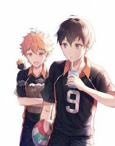 Haikyuu Volleyball, Volleyball Anime, Hinata Shouyou, Haikyuu Kageyama, Haikyuu Ships, Avatar, Kagehina Cute, Otaku, Yukine Noragami