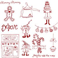 Simply Christmas 2 Embroidery Designs  A must
