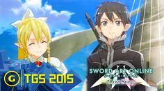 Sword Art Online: Lost Song Combat Gameplay - TGS 2015