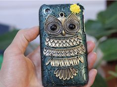 owl phone case <3