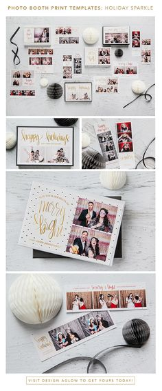 Your clients will love these sparklingly new templates for their holiday parties and events. Show off your chic style this holly jolly season and watch the referrals pour in for the new year.