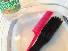 BowSweet: Tuesday Tips: How to Clean Your Hair Brushes/Combs