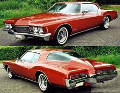1971-1973 Buick Riviera BOAT TAIL Dad had one of these,man that car would Smoke those back tires.455 engine,Sweet!!