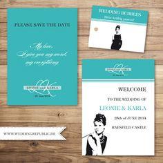Hochzeitseinladung   Wedding Invitation   Save the date