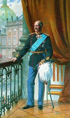 Otto Bache, Portrait of Frederick VIII of Denmark, 1911