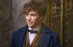 """He's not particularly good with humans, but he's really wonderful with creatures and he has a warm heart.""                                                                                                                                      - Eddie Redmayne speaking about Newt."