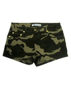 Exocet jeans Exocet Women's Camouflage Shorts,plus Sizes Camouflage Shorts, Camo Shorts, Linen Shorts, Shorts Outfits Women, Short Women Fashion, Swim Skirt, Pants For Women, Clothes For Women, Patterned Shorts