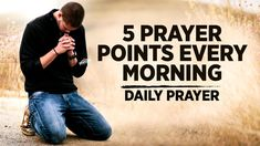 A Beautiful Morning Prayer To Bless You   5 Prayer Points to Start Your Day - YouTube Audio Bible, Tribe Of Judah, Morning Prayers, Daily Prayer, Praise And Worship, Beautiful Morning, Blessed, Faith, Words