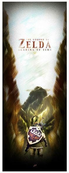 Cool Art: 'The Legend Of Zelda' by Luke Butland