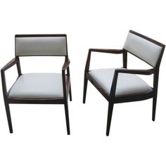 Jens Risom Arm Chairs for Knoll Chairs