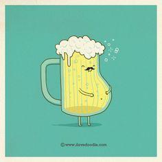 Beer belly  - Doodle Everyday