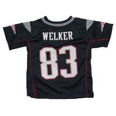 Toddler Nike Wes Welker Game Jersey-Navy New England Patriots Merchandise 37a8f46d3