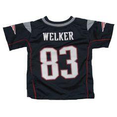 Official New England Patriots ProShop - Toddler Nike Wes Welker Game Jersey- Navy eaf716f77