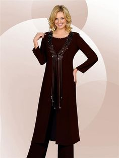 Dressy Pant Suit for Women | CONJUNTO CON PANTALON PARA FIESTA ...
