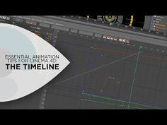(24) Cinema 4D Tutorial - Using the Timeline in Cinema 4D - YouTube
