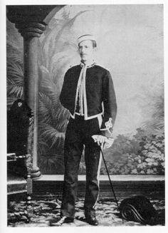 Samuel Liddell MacGregor Mathers (1854 – 1918), born Samuel Liddell Mathers, was a British occultist. He is primarily known as one of the founders of the Hermetic Order of the Golden Dawn, a ceremonial magic order of which offshoots still exist today. This photo is circa 1887.