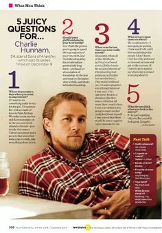 #CharlieHunnam vs. #TravisFimmel post