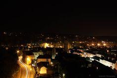 Tavistock at night.