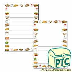 Sandwich Shop Role Play Resources - Primary Treasure Chest Ourselves Topic, Crafts For Kids, Arts And Crafts, Page Borders, Sandwich Shops, Role Play, Treasure Chest, High Quality Images, Sandwiches