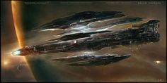 Jupiter Ascending has some of the most stunning visuals we've ever seen in a space opera. The movie's spaceships are just stunning, and unlike anything else in movies or elsewhere. We talked to lead designer George Hull, and he told us how Brutalist architecture and Siamese fighting fish influenced these ships.