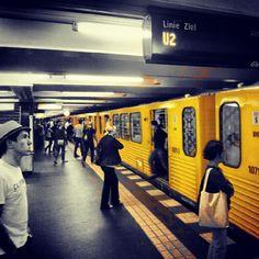 """@Kai's photo: """"#u2 #metro #Berlin"""""""