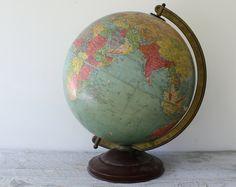 GLOBE~Vintage Globe