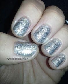 My Nail Polish Is Poppin': Titanium Crush