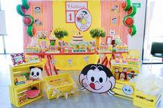 Decoração Magali ou Melancia: mais de 50 ideias – Inspire sua Festa ® Party Decoration, Welcome To The Party, Childrens Party, Toy Chest, Alice, Happy Birthday, Candy, Halloween, Diy
