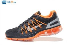 best website baf33 07970 New Air Max 2020 Semi-palm Cushion Mens Running Shoes Orange Black