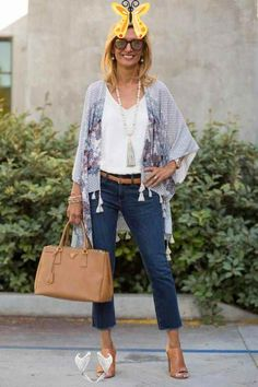 Summer Fashions For Over 50 2016 | Classic Fashion For Over 50 | Outfits For 50 Year Old Woman 20190619 #womensfashion40yearoldoutfitscasual #fashiontrendsforwomenover50classy<br> Fashion Mode, 50 Fashion, Kimono Fashion, Look Fashion, Fashion Outfits, Fashion Trends, Classic Fashion, Petite Fashion, Fashion Ideas
