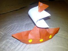 Pilgrims boat thanksgiving craft