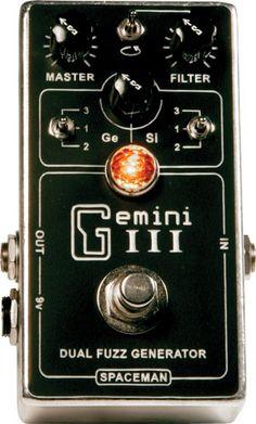 Spaceman Gemini III Dual Fuzz Generator Pedal Review