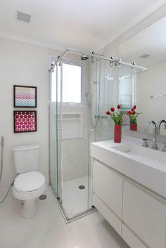 Banheiro Master: Banheiros ecléticos por Duda Senna Arquitetura e Decoração