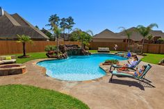 Let Anthony & Sylvan Pools transform your backyard into a tropical paradise!