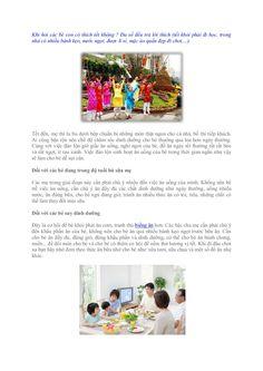 dinh-duong-cho-be-ngay-tet-16266303 by Thanh dang via Slideshare