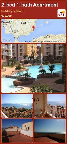 2-bed 1-bath Apartment in La Manga, Spain ►€70,000 #PropertyForSaleInSpain