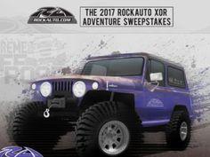 RockAuto XOR Adventure Sweepstakes