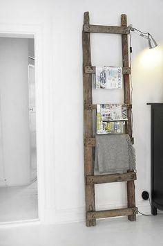 Una escalera, mil usos! | DECORA TU ALMA - Blog de decoración, interiorismo, niños, trucos, diseño, arte...