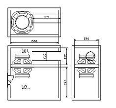 mini subwoofer 5 6 bandpass 4th order isobaric pinterest rh pinterest com Home Subwoofer Wiring Diagrams Subwoofer Amp Wiring Diagram