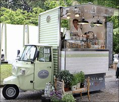 Piaggio Ape Conversions - Piaggio Ape sales and conversions by Tukxi,Street food trucks, shop display, vending & Coffee carts 01297 441299 international 0044 1297 441299