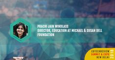 Prachi Windlass - Director Mission Investing at Michael & Susan Dell Foundation speaking on Why and What To Invest at EdTechReview Summit & Expo 2018. Join us for the session Book your tickets here goo.gl/cKfwgF #ETR18 #elearning #education #edtech #edleaders #india http://ift.tt/2G9mqJh