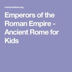 Ancient Rome for Kids: The City of Pompeii | Ancient ...